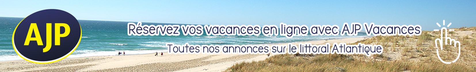Réservez vos vacances en ligne avec AJP